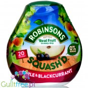 Robinsons Squash'd Apple Blackcurrant concentrated water flavor enhancer