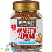 Beanies Decaf Amaretto Almond instant flavored coffee 2kcal pe cup
