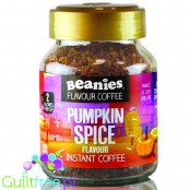 Beanies Pumpkin Spice instant flavored coffee 2kcal pe cup