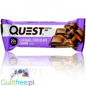 Quest Bar Caramel Chocolate Chunk protein bar