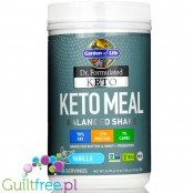 Garden of Life, Dr. Formulated Keto Meal Balanced Shake, Vanilla