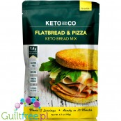 Keto & Co Flatbread & Pizza - mix do keto pizzy & pieczywa
