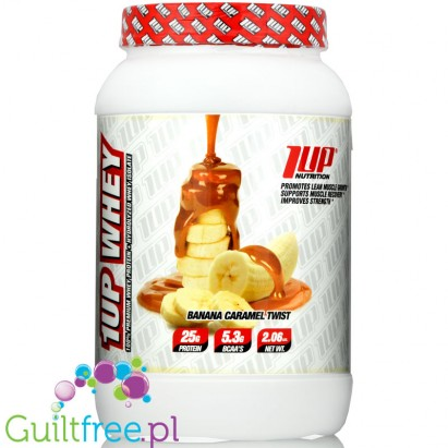1Up Nutrition 1Up Whey Protein Banana Caramel Twist 1KG
