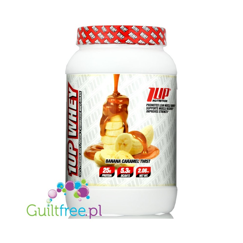 1up Nutrition 1up Whey Protein Banana Caramel Twist Guiltfree Pl
