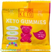 Kiss My Keto Gummies - MCT infused fruity gummy bears