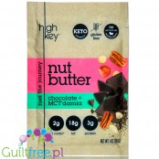 High Key Keto Nut Butter Chocolate & Macadamia squeeze pack