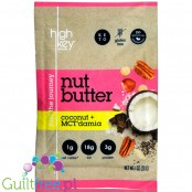 High Key Keto Nut Butter Coconut & Macadamia squeeze pack