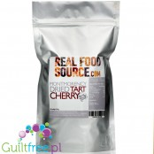 RealFoodSource Tart Montmorency Cherries - suszone cierpkie wiśnie Montmorency