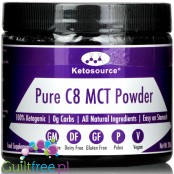 Ketosource Pure C8 MCT Powder, Unflavored