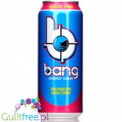 VPX Bang Rainbow Unicorn sugar free energy drink with BCAA, SuperCreatine and CoQ10