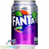 Fanta Grape Zero no added sugar 4kcal, can