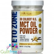 Colbert's Keto Zone MCT Oil Powder, Vegan French Vanilla Powder