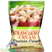 Healthy Living Foods Protein Crisps, Strawberry Cream 0.99 oz by Healthwise