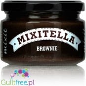 Mixitella Brownie - hazelnut spread with 80% cocoa dark chocolate