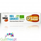 Super Fudgio Milk no added sugar chocolate bar