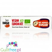 Super Fudgio Vegan Coconut no added sugar dark chocolate bar