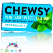 Chewsy Peppermint sugar free chewing gum with xylitol