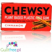 Chewsy Cinnamon sugar free chewing gum with xylitol