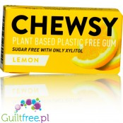 Chewsy Lemon sugar free chewing gum with xylitol