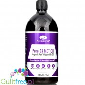 Ketosource Premium Pure C8 MCT Oil with 3X More Ketones, Highest 99.8% Purity 1L
