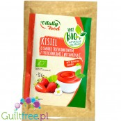 Vitally Food BIO Strawberry sugar free jelly without sweeteners