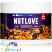 AllNutrition NUTLOVE Crunch milk chocolate & roasted nuts sugar free spread