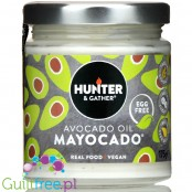 Hunter & Gather Avocado Mayo - wegański keto majonez bez jajek z olejem awokado