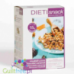 Muesli - protein mullies with pieces of chocolate-caramel and pecan nuts