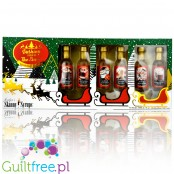Skinny Syrups Sampler, Dashing Through the Snow - gift set of zero calorie mini syrups