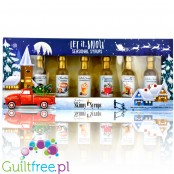 Skinny Syrups Sampler, Let it Snow - gift set of zero calorie mini syrups