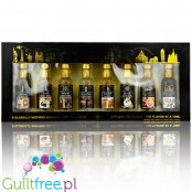 Skinny Syrups Sampler, Explore the World - gift set of zero calorie mini syrups