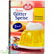 Dr. Oetker sugar-free, lemon-flavored jelly