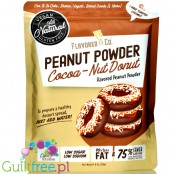 Flavored PB & Co Flavored PB - Cocoa-Nut Donut, low calorie defatted natural powdered peanut butter with stevia