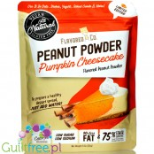 Flavored PB & Co Flavored PB - Pumpkin Cheesecake *Ltd Edition*, low calorie defatted natural powdered peanut butter with stevia