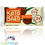 Keto Bar, Dark Chocolate Coconut Almond