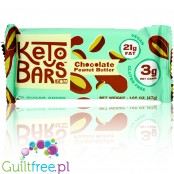 Keto Bars - Keto Bar Chocolate Peanut Butter