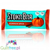 Stoka Nutrition, Bar Pumpkin Spice - vegan keto crunchy granola bar, gluten free & all natural