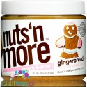 Nuts 'N More Gingerbread Peanut Butter with Whey Protein and xylitol