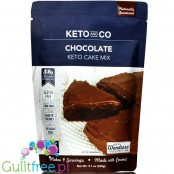 Keto & Co Cake Mix, Chocolate  - mix do keto ciasta