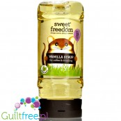 Sweet Freedom Vanilla Fruit Syrup - a sweetening syrup based on fruit extracts without added sugar
