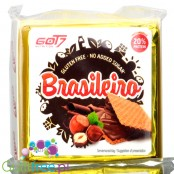 Got7 Brasileiro 3-pack no added sugar gluten free protein wafers with cocoa & hazelnut cream