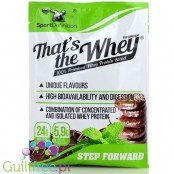 Sports Definition That's The Whey Chocolate & Mint 100% premium whey protein blend