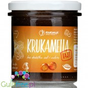 Krukam Krukamella Lajt cocoa & hazelnut paste, no added sugar with erythritol