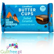 LoveRaw Vegan Chocolate Butter Cups Salted Caramel