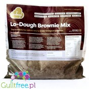 Lo-Dough Brownie Mix for incredibly low-calorie gluten-free brownies