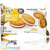 Lenny & Larry's Complete Cremes Vanilla - Oreo Gold inspired vegan protein cookies