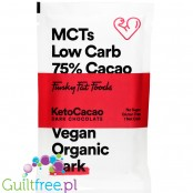 Funky Fat Foods KetoCacao Dark - keto chocolate with MCT