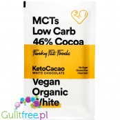 Funky Fat Foods Keto White - ketogenic white chocolate with MCT