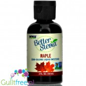 Now Better Stevia Maple liquid sweetener  with stevia