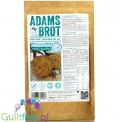 Adam's Buns 4 Seeds, low carb keto bread rolls baking mix